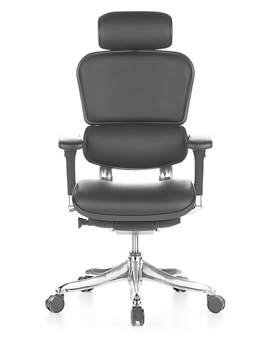 Ergohuman Elite Leather Office Chair Front View