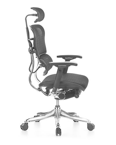 Ergohuman Elite Mesh Office Chair Side View