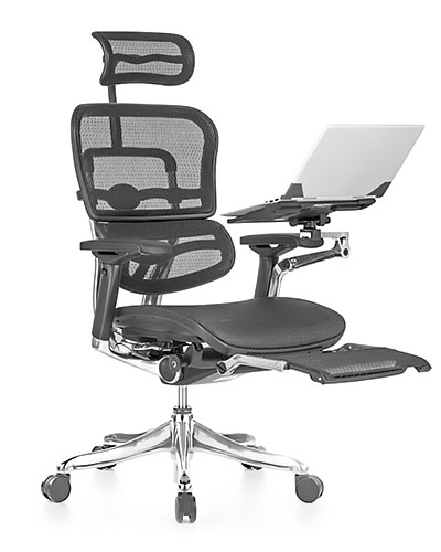Ergohuman Elite Boost Mesh Office Chair Front View