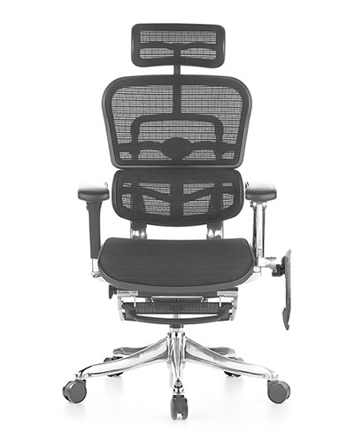 Ergohuman Elite Boost Mesh Office Chair Side View