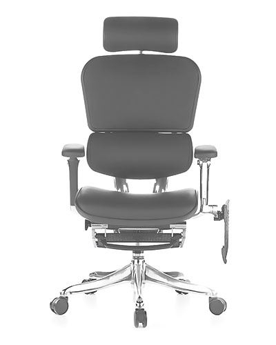 Ergohuman Luxury Boost Leather Office Chair Side View