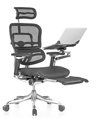 Ergohuman Luxury Boost Mesh Office Chair Front View