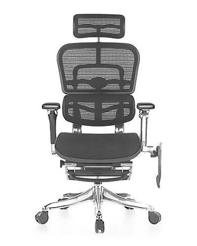 Ergohuman Luxury Boost Mesh Office Chair Side View
